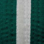 Green W/ White Stripe Belt - 6th (Roku) Kyu